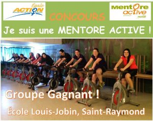Annonce groupe gagnant Facebook